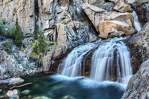Evolution Creek Falls pictures; Click to view more information